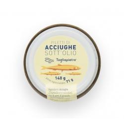 Filetti di Acciughe Sott'olio 140 gr