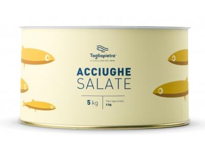 Acciughe Salate 5 kg